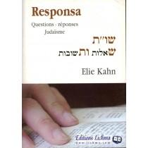 Responsa - Rav Elie Kahn Edition Lichma - 1