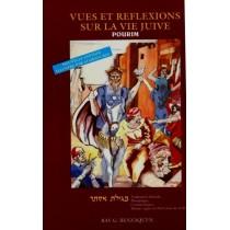 Vues et Réflexions sur la Vie juive - Pourim - Rav Gabriel Benzaquen - 2