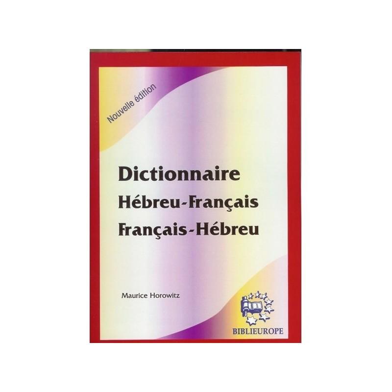 Dictionnaire Hébreu-Français / Français-Hébreu Biblieurope - 1