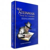 Rav Steinman Vivre avec Hachem Éditions Tehila - 1