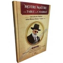 Notre Maître à la Table du Chabbat - Dévarim - 1