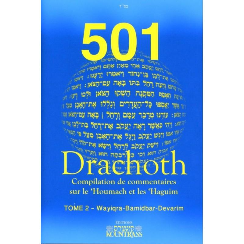 501 Drachot - Tome 2 - Wayiqra- Bamidbar - Devarim Kountrass - 1