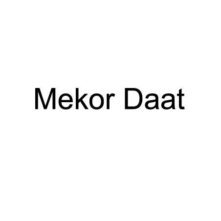 Mekor Daat