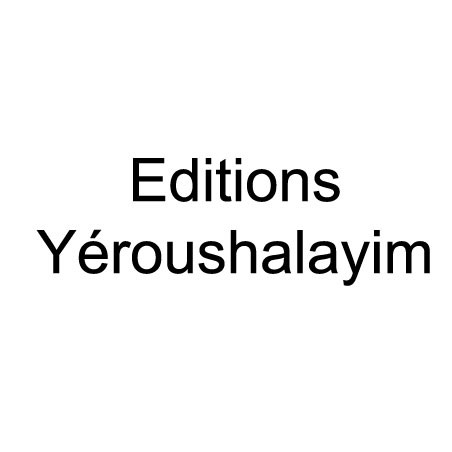 Editions Yéroushalayim